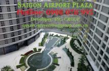 Bán CH 3PN, 126m2 Sài Gòn Airport Plaza, tầng trung, sang HĐ Thuê giá tốt, hotline 0908 078 995