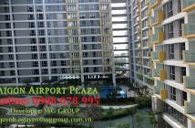 Bán CH 1PN, có nội thất, diện tích 57m2, Sài Gòn Airport Plaza, giá tốt nhất dự án, 0908 078 995
