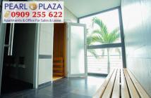 Cần tiền bán gấp CH cao cấp tại Pearl Plaza 1PN, dt 56m2 giá duy nhất thị trường - LH 0909 255 622