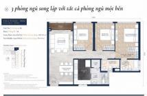 Feliz En Vista căn 3 phòng ngủ, tòa Cruz, DT: 106m2, tầng trung, giá bán 6.1 tỷ. LH: 0931356879