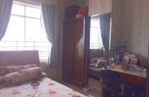 Cho thuê căn hộ Dragon Hill 1, MT Nguyễn Hữu Thọ, Nhà Bè, DT 87m2, 2PN, giá 10tr/th, đầy đủ nội thất,  lầu cao, view đẹp.