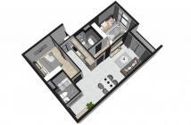 Bán căn hộ 2PN, 57,5m2, trong khuôn viên căn hộ Cộng Hòa Garden