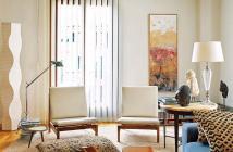 Bán chung cư Miếu Nổi, 18 tầng, view cao, 2pn, full NT, giá 2.05 tỷ