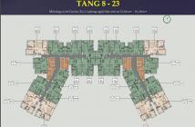 Bán căn 2PN Everrich, Quận 5, 86m2 full nội thất, view Quận 1, sổ hồng cầm tay