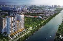 Bán căn hộ 1PN 68m2, Delasol ở Q4, sát Q1, tầng 16, view hồ bơi tuyệt đẹp, giá tốt