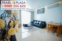 Hàng cực hiếm cần ra ngay CH Pearl Plaza, 2PN, view đẹp, giá chỉ 4,8 tỷ. Hotline 0909 255 622