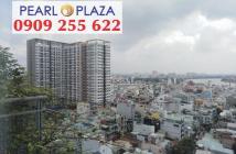 PKD Pearl Plaza cần bán gấp CH 3PN, DT 123m2, full nội thất cao cấp. LH hotline 0909 255 622