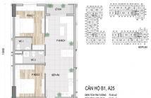 Bán căn hộ Prosper Plaza 2pn.2wc mặt tiền đường Phan Văn Hớn, Trường Chinh. Tầng 9 chỉ chênh lệch 70 triệu. Bao Phí sang nhượng. L...