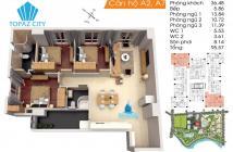 Cần bán nhanh căn hộ Topaz City, Cao Lỗ, 95m2 (3PN) giá 2,230 tỷ