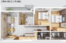 Chính chủ bán căn Osimi Tower 75m2, giá 2 tỷ 180 tr, tầng đẹp, LH 0968557762