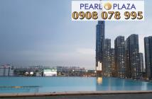 Hàng cực hiếm cần ra ngay CH Pearl Plaza 2PN, view đẹp, giá chỉ 4,36 tỷ, hotline 0908 078 995