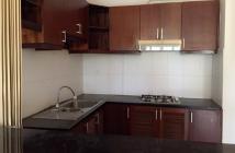 Cho thuê căn hộ chung cư Nguyễn Kim, P.7, Q.10, lầu cao, view thoáng mát, DT 60m2, 2PN, giá 8.5tr/th, nhà có ít nội thất.