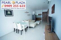Bán CH 3PN, đang có HĐ thuê, căn góc view đẹp nhất dự án Pearl Plaza - Hotline 0909 255 622