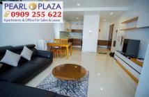 Hàng cực hiếm cần ra ngay CH Pearl Plaza 2PN, view đẹp, giá chỉ 4,65 tỷ có VAT - Hotline 0909 255 622