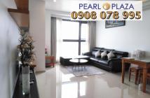 Bán CH 2PN, 97m2, 5.2 tỷ Pearl Plaza gần Tân Cảng, tầng cao, view đẹp, giá tốt, hotline: 0908078995