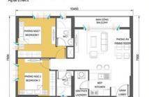 Bán gấp căn hộ Masteri Thảo Điền, Quận 2, T4.B12A.08, căn góc