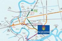 Cần bán căn hộ The Sun Avenue, 2pn, view hồ bơi, xa lộ, 86.6m2, 3.3 tỷ. LH 0909 182 993