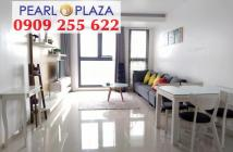 Bán CH Pearl Plaza 2PN, view sông Sài Gòn, giá duy nhất dự án - LH Hotline PKD 0909 255 622