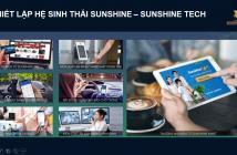 Căn hộ hạng sang Sunshine Sài Gòn - công nghệ 4.0 dát vàng