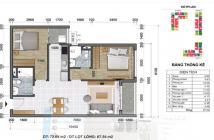 Cộng Hòa Garden Q. Tân Bình căn hộ dễ mua dễ bán dễ cho thuê, cho thuê 2 PN/17tr/th. LH: 0931295457