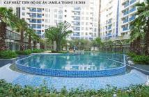 Bán căn hộ Jamila, 2PN, 76m2 tầng cao view thoáng đẹp, full nội thất, giá 2.4 tỷ, 0938658818