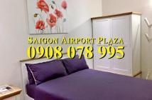 Chủ nhà xuất ngoại bán gấp CH 2 PN đủ NT Sài Gòn Airport Plaza, giá tốt nhất dự án. LH 0908 078 995
