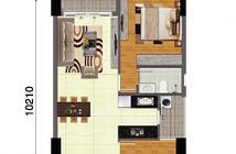 Bán suất thương mại chung cư bộ công an quận 2 ngay Trần Não 2PN 2WC full nội thất