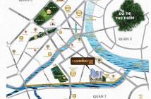 Cần nhượng lại gấp căn 2PN Charmington Iris Q4 tầng 12 view Bitexco, sông và sân vườn 75m2