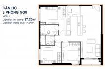 Bán căn 3PN thuộc căn hộ Ascent Bình Thạnh, nằm ở tầng 7, Giá bán CĐT: 4.04 tỷ. LH: 0965232672