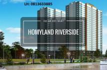 Căn hộ Homyland Riverside Q.2 - Tầng cao, view sông - Giá gốc từ CĐT
