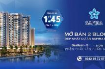 Căn hộ Safira Khang Điền mở bán 2 block đẹp. Giá từ 1,6 tỷ đến 2.8 tỷ