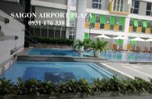 Bán căn hộ Saigon Airport Plaza 2 phòng ngủ, tầng cao, nội thất nhập, 4.35 tỉ. LH 0931.176.338