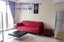 Bán căn hộ quận Tân Bình-Sài Gòn Airport Plaza 2 phòng ngủ, tầng cao, nội thất nhập, 4.35 tỉ. LH: 0902.352.045