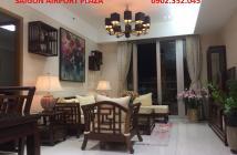 Bán căn hộ quận Tân Bình-Sài Gòn Airport Plaza 3 phòng ngủ, tầng trung, nội thất, 5.1 tỉ. LH: 0902.352.045