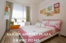 Bán căn hộ quận Tân Bình- Sài Gòn Airport Plaza 3 phòng ngủ+, tầng trung, nội thất, 6 tỉ. LH: 0902.352.045