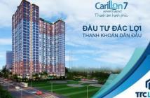 BOOKING suất ưu đãi căn đẹp tầng cao CARILLON 7, CK 7%, trực tiếp từ nhân viên CĐT