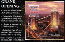 Alpha Hill - Sở hữu Siêu căn hộ TT Q.1 - TT chỉ từ 2 tỷ - Cam kết thuê từ CBRE - Booking nhận lãi suất 200% - LHPKD: 0813633885