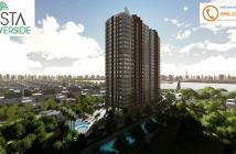 Căn hộ Vista Riverside ven sông SG thiết kế chuẩn Singapore, 3 mặt view sông.