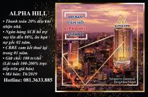 Alpha Hill – TT 20% nhận nhà, lãi suất 0%, cam kết thuê  - 0813633885