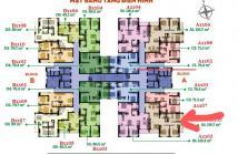 Bán căn hộ chung cư tại Dự án Tân Hương Tower, Tân Phú, Sài Gòn giá 2,55 Tỷ