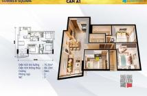 Chính chủ cần bán căn hộ Summer Square Q.6, mặt tiền đường Tân Hoà Đông