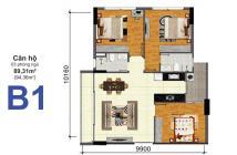 Bán căn hộ chung bộ công an Quận 2 căn góc BlockA 94m2 3PN Có nội thất