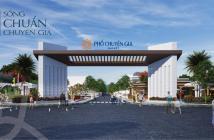 Nhà Phố ngay trung tâm thị xã Phú Mỹ, 1.4 tỷ căn 6x20, Lh: 0911744849