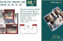 Căn góc 68m2 : 2PN-2WC, Bàn giao full nội thất, nhận nhà ở liền XEM NHÀ LIÊN HÊ 0906868705