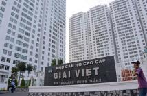 Cho thuê căn hộ Giai Việt Q8.110m,2pn,nội thất cơ bản,tầng cao thoáng mát.vị trí mặt tiền đường Tạ Quang Bửu,giá 11tr/th Lh 094431...