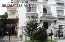 Cho thuê gấp Khu biệt thự Mỹ Văn, Quận 7, Tp.HCM diện tích 220m2  giá 40 Triệu/tháng chính chủ: 0912639118 Mr Kiên