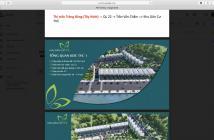 🎉🎊Mở bán đợt 1 - Đất nền Củ Chi mặt tiền đường Trần Văn Chẩm Gần ngay trường tiểu học, KCN, chợ, bệnh viện Xuyên Á