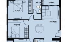 Cho thuê căn hộ 3 phòng ngủ 92,4m2 giá thuê 7tr/thg tại chung cư Tecco Town Bình Tân