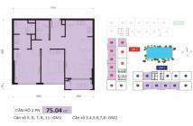Cần bán căn hộ 2pn/2wc, 75m2, giá bán 4.2 tỷ bao phí, nhà full nọi thất - Golden Mánison