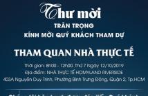 Thanh toán 950tr nhận căn hộ mặt tiền Nguyễn Duy Trinh, quận 2 mới 100%, ngân hàng hỗ trợ 70%. LH:0906.886.443